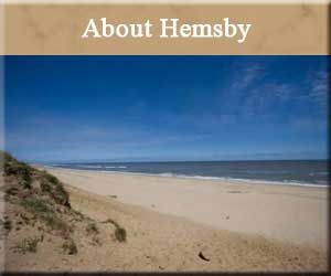 About Hemsby, Norfolk