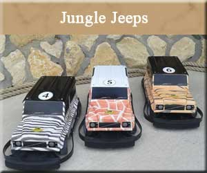 Jungle Jeeps - Theme Cars